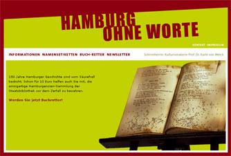 Hamburg ohne Worte